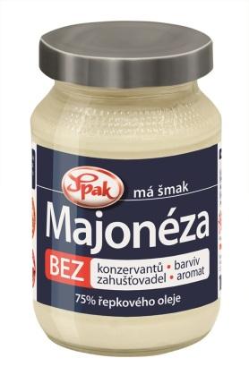 Nová majonéza SPAK: Srepkovým olejom a BEZ konzervačných látok