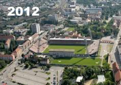 základný kameň nového futbalového štadióna Antona Malatinského v Trnave