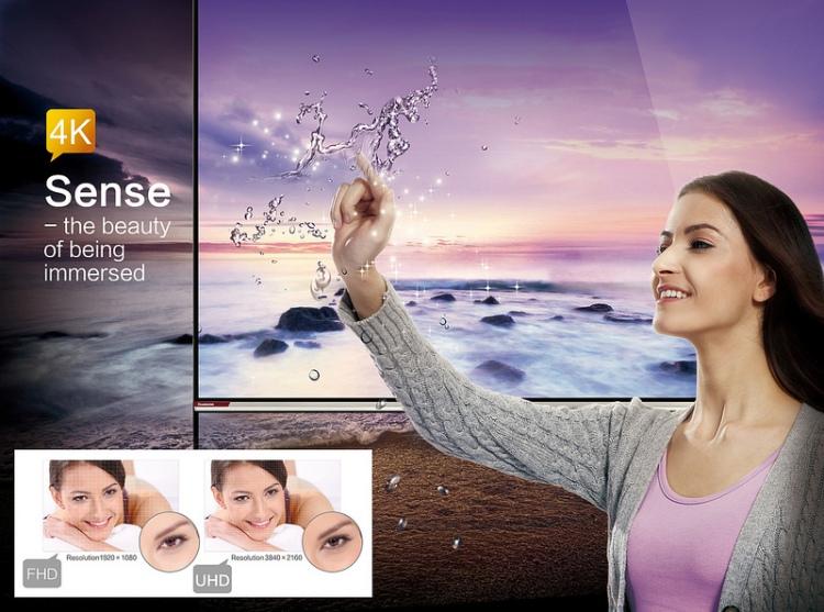 4K alebo aj UHD či Ultra HD je vlastne nasledovníkom Full HD štandardu, ktorý je dnes celkom bežný a dostupný.