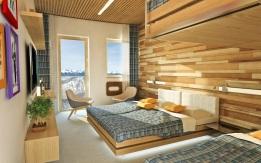 Rotunda ponúkne 3 izby vyššieho štandardu so samostatnou recepciou asociálnym zariadením.