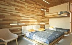 Ubytovacia časť bude obmenou apartmánu Dedo na Lomnickom štíte.