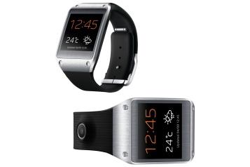 Hodinky Samsung Galaxy Gear slúžia nielen na zobrazovanie času, ale dokážu komunikovať so smartfónom. Vďaka zabudovanému mikrofónu a reproduktoru sa dajú využiť aj pri telefonovaní a integrovaná kamera z nich robí fotoaparát, ktorý máte vždy po ruke.
