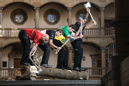 STIHL TIMBERSPORTS ® World Championship 2013 - svetový šampionát drevorubačov- sa uskutoční 25 a 26. októbra v Stuttgarte.