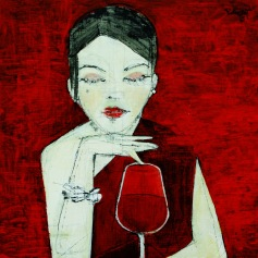 Návrh absolventa VŠVU, Mgr. art. Milana Rubického, ktorý zvíťazil v súťaži Vitis Galéria už po druhýkrát s návrhom etikety pre červené vína.