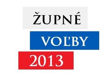 Voľby do orgánov samospráv vyšších územných celkov (VÚC) sa uskutiočnia v termíne 9. novembra 2013, v prípade potreby sa 2. kolo uskutoční 23. novembra 2013.