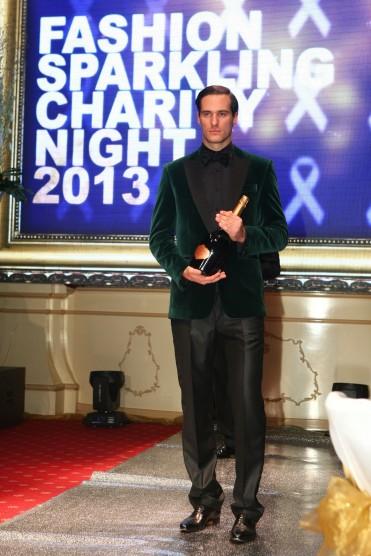 Konala sa aj dražba luxusného šampanského Laurent Perrier zlimitovanej edície 100 kusov, ktoré sa vydražilo sa 10-tisíc eur.