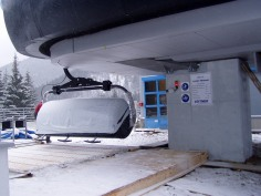 Od pondelka 25. novembra prebiehali záťažové skúšky lanovky formou jazdy s tzv. mŕtvou váhou na Lúčkach v Nízkych Tatrách.