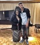 Raper sa stretol s americkou jazzovou speváčkou Maysou Leak.