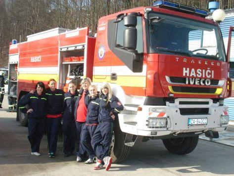 Hasičky z Radôstky súperili s inými hasičkami v internetovej súťaži o Najsexi hasičský tím SR a ČR.