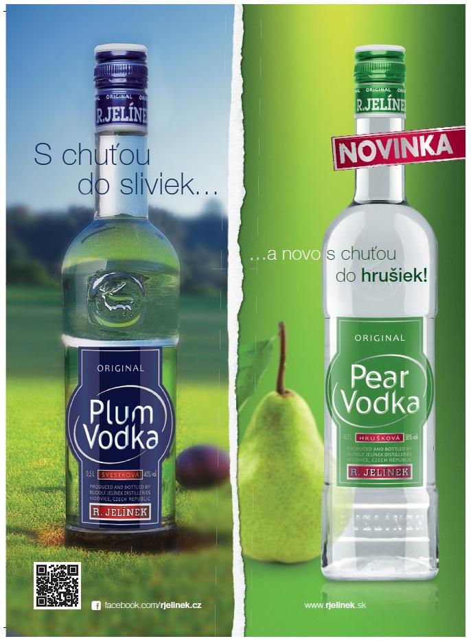 Zopakuje Plum vodka spolu so sestrou Pear úspech zČR ina Slovensku?