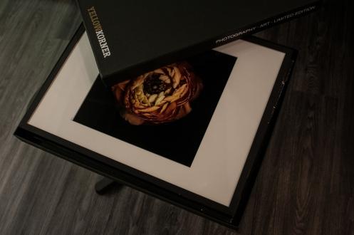 Fotografie sú dostupné v štyroch veľkostiach, dvoch dohotoveniach, pričom cena základného formátu začína na 50 €, za kompletné darčekové balenie zaplatíte od 80 €.