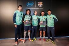 Podstata partnerstva je vyjadrená na nových dresoch futbalového klubu, ktoré obsahujú logo spoločnosti Intel.
