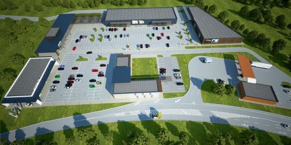 D2 Centrum ponúkne na diaľnici pri Lozorne priestor na výstavbu čerpacej stanice, reštaurácie, retailu aservisných služieb