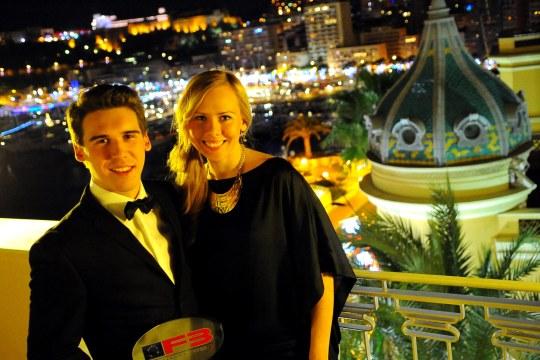 V sobotu 14. decembra sa najlepší jazdci uplynulej sezóny stretli v hoteli Hermitage v Monte Carle, priamo nad legendárnou traťou Formuly 1.