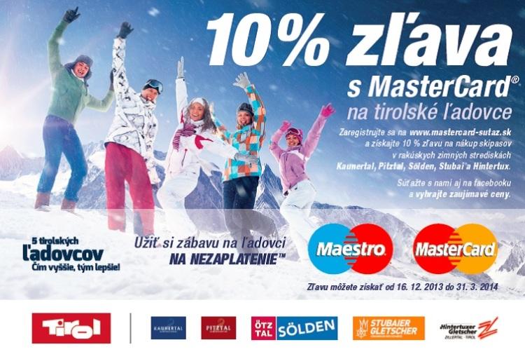 MasterCard® spúšťa akciu snázvom X-Border práve pred nadchádzajúcou zimnou lyžiarskou sezónou na Slovensku av Českej republike.