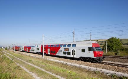 Vlakové spojenie Viedeň - Bratislava. © ÖBB / Archiv PG