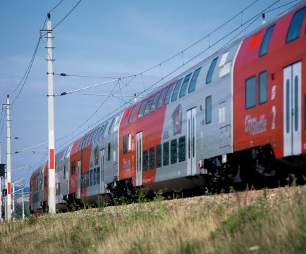 Vlakové spojenie Viedeň - Bratislava. Foto: © Harald Eisenberger