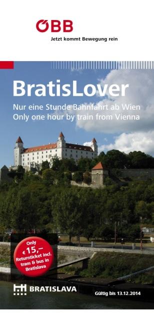 Pre fanúšikov Bratislavy v Rakúsku vydávajú brožúrku BratisLover . Guide BratisLover 2014.