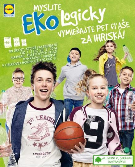 Lidl spúšťa pre školy akciu Ekohra, víťaz získa multifunkčné športové ihrisko v hodnote 80 000 eur. Školy umiestnené na druhom a treťom mieste sa môžu tešiť na ihriská v hodnote 55 000, resp. 35 000 eur. Dôvod na radosť budú mať aj žiaci zo škôl na 4. až 7. mieste, vyhrajú totiž rekonštrukciu existujúcich športovísk či športové pomôcky v hodnote 10 000 eur.