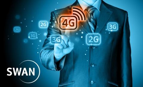 SWAN získal vtendri 2 x 15 MHz vpásme 1800 MHz, čo mu umožňuje výstavbu siete na prenos dát vysokou rýchlosťou avstup medzi trojku operátorov splnohodnotnými mobilnými službami na Slovensku