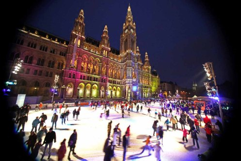 Korčuľovanie a zábava na ľade odštartuje vo Viedni 23. januára. Otvorený bude denne od 9.00 do 22.00 hod až do 9. marca.