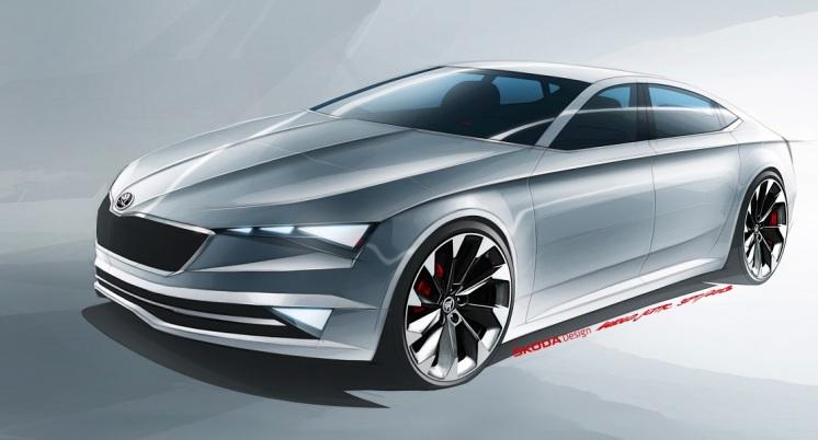Vrcholom prezentácie značky ŠKODA na autosalóne v Ženeve 2014 bude premiérové predstavenie dizajnovej štúdie ŠKODA VisionC.