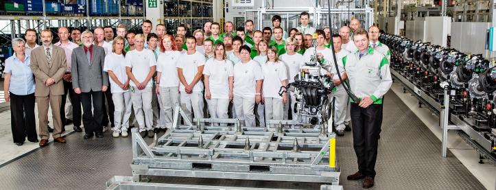 Závod rozširuje v Mladej Boleslavi výrobu o agregát 1,0 MPI (Multi Point Injection), budú ho používať malé a kompaktné vozidlá značiek ŠKODA, SEAT a Volkswagen.