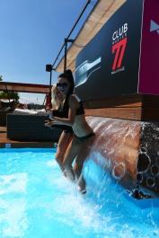 Základom konceptu je pop-up plážový klub. ClubMaster 77 sa zjaví každý piatok na Magio Pláži v Bratislave.