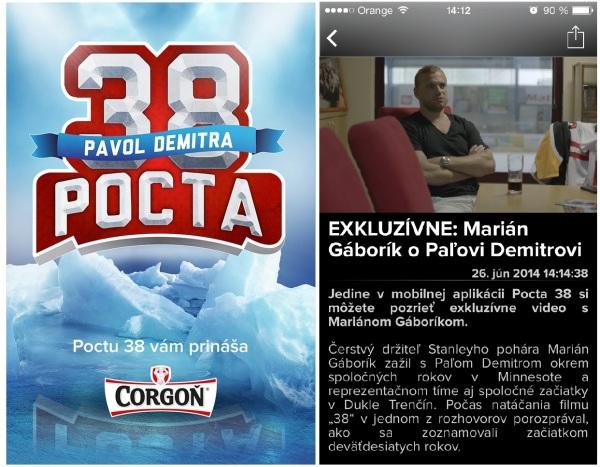 Aplikácia Pocta38 je od začiatku júla bezplatne dostupná všetkým užívateľom mobilných zariadení prostredníctvom App Store alebo Google Play.