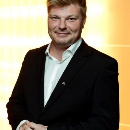 Tomasz Rogacz Generálny riaditeľ McDonald`s pre Českú republiku a Slovensko