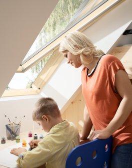 VELUX: Detská izba v podkroví