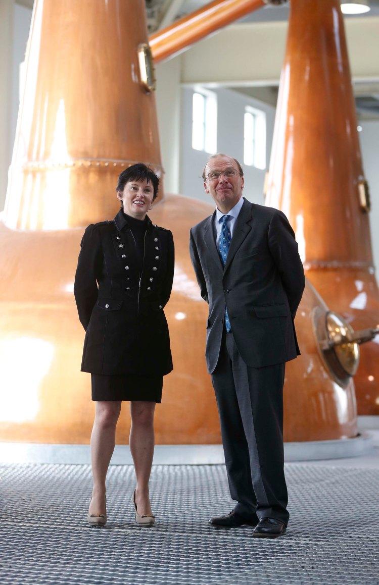 Tullamore D.E.W. slavnostně otevřela 17. září 2014 svou novou palírnu v rodném městě Tullamore, která stála 35 miliónů Euro.