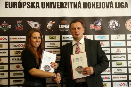EUHL: Európska hokejová univerzitná liga štartuje sezónu 2014/15