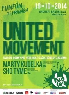 Bratislavská edícia workshopov United Movement sa uskutoční v nedeľu 19. októbra 2014 v budove Aircraft Sporthouse na Ivánskej ceste 30/b.