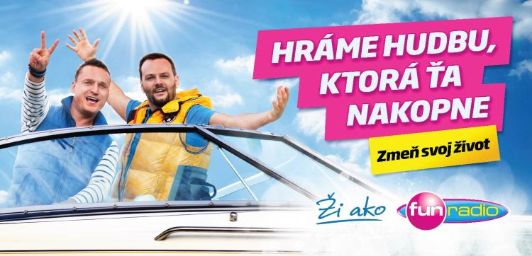 Junior a Marcel: Ži ako Fun rádio!