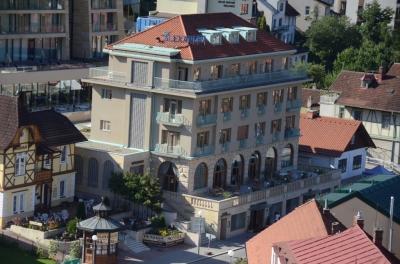 Hotel Alexandria Luhačovice