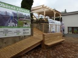 Najväčšou investíciou pre Račiansky spolok bolo obstaranie dreveného schodiska a prístrešku