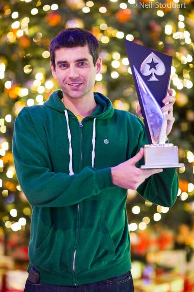 Vítězný Stephen Graner si z Prahy odvezl €969.000