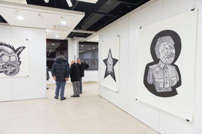 V Galérii Gagarinka môžete vidieť naraz dve výstavy: Matúš Maťátko: Hrdinovia, Idoly a Ľudia a Autorská serigrafia. Záujemcovia budú môcť vystavované diela vidieť až do 18. 1. 2015.