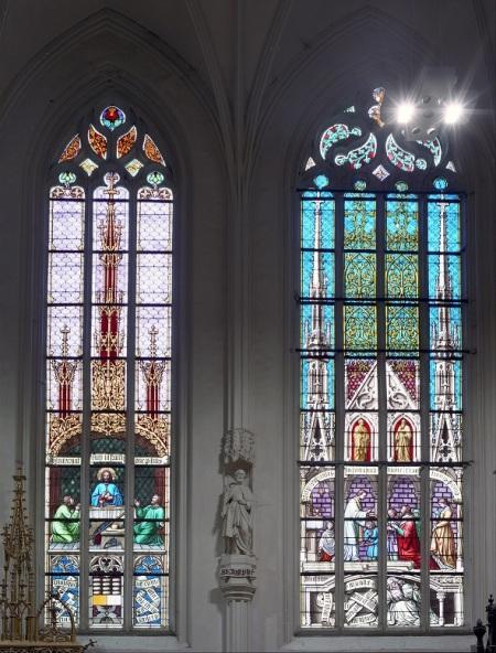 Nadácia VÚB obnova vitráž Spišská Kapitula