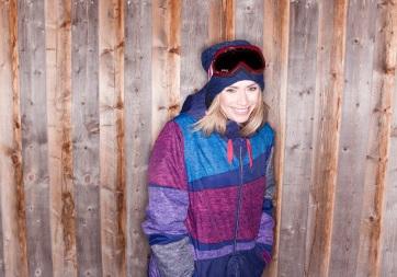Snowboardistka Baša Števulová.