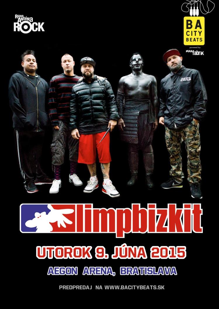 AEGON aréna sa bude otriasať v základoch, do Bratislavy prídu Limp Bizkit!