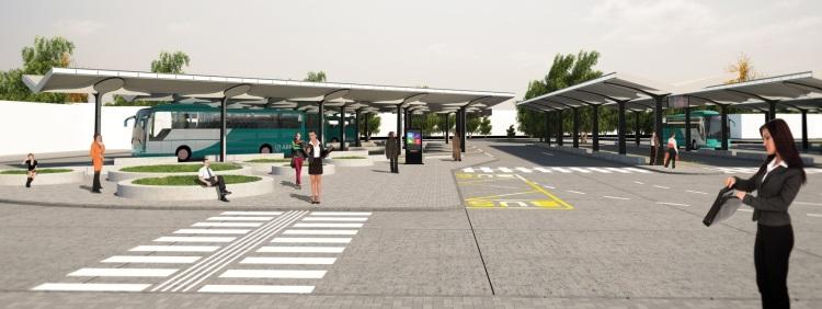 Autobusová stanica Nitra vyjde spoločnosť ARRIVA na 2 milióny eur Arriva
