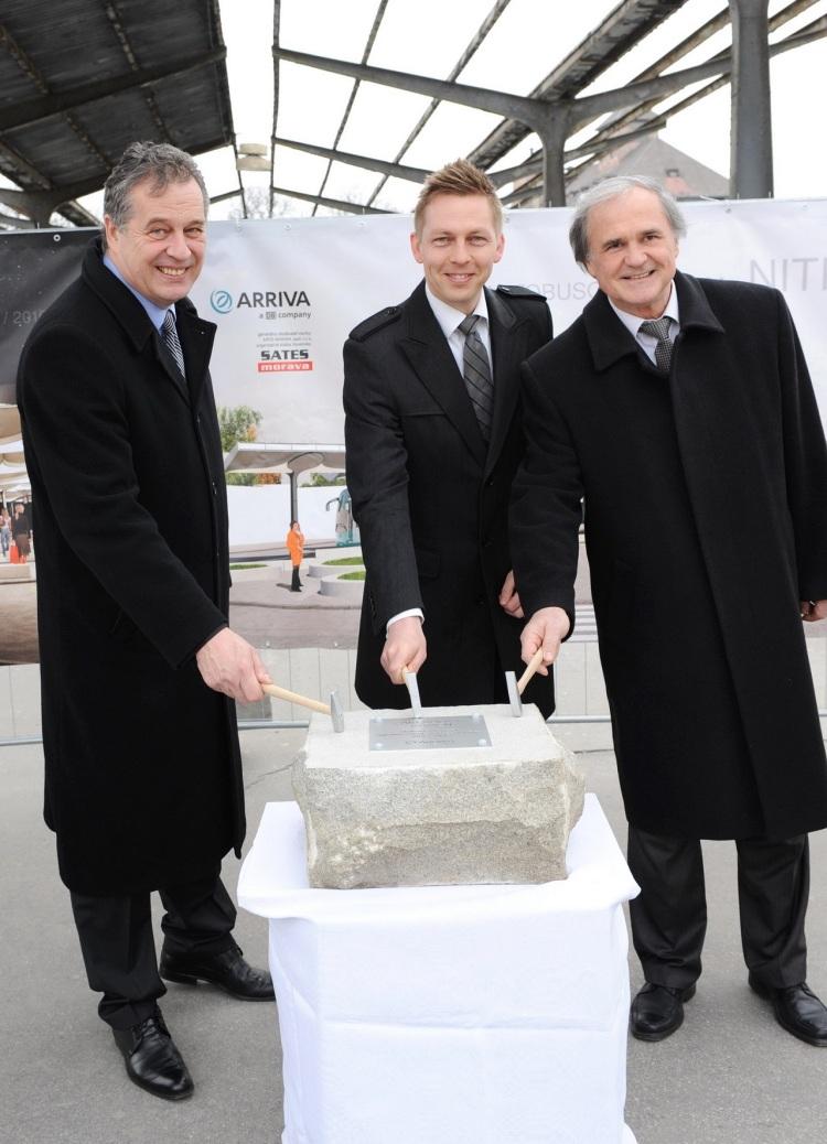 Autobusová stanica Nitra vyjde spoločnosť ARRIVA na 2 milióny eur