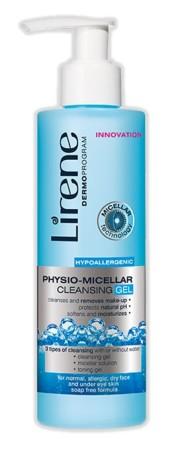 Absolútna novinka: Lirene Physio-Micelárny čistiaci gél.
