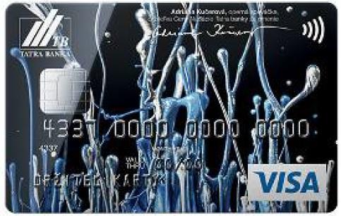 Štýlový dizajn v poradí už 12. limitovanej edície kreditnej karty vznikol spojením jedinečného hlasu a unikátnej technológie.