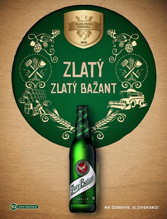 """Najlepšia """"desiatka"""" na Slovensku je Zlatý Bažant 10%."""