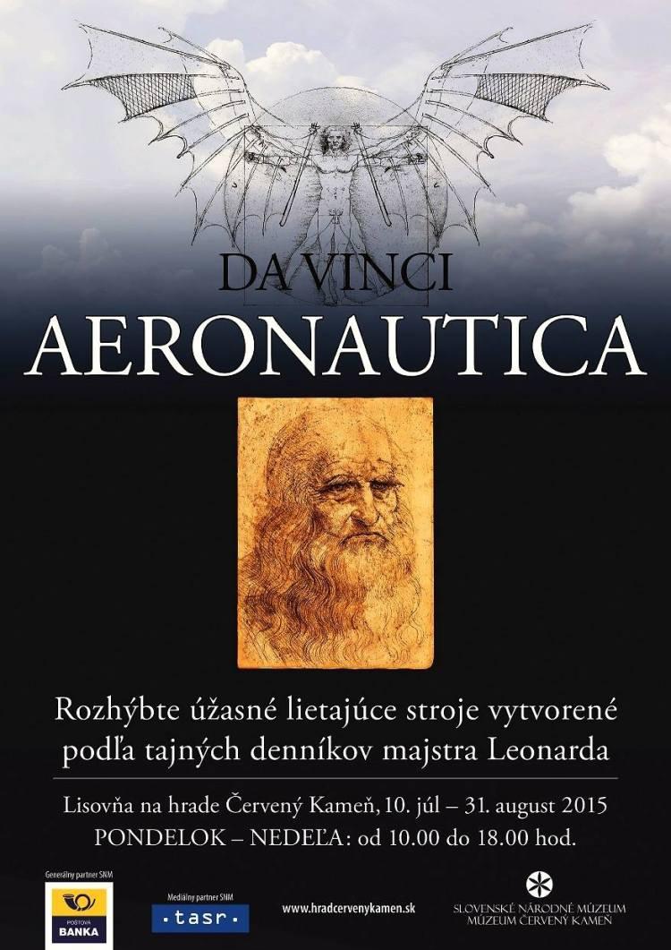 Aeronautica – Da Vinciho lietajúce stroje výstava