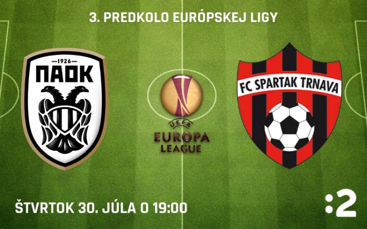 PAOK Solún – FC Spartak Trnava prenos