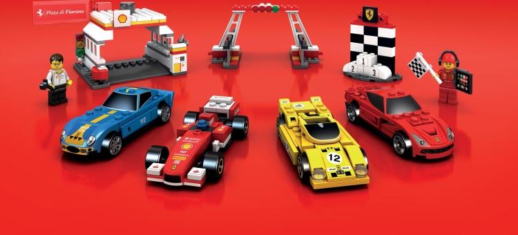 Spoločnosť SHELL Slovakia s.r.o. opäť prichádza na čerpacie stanice s limitovanou edíciou modelov Ferrari z legendárnych LEGO® kociek.